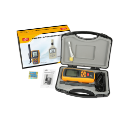 Termo-higrometr Benetech GM1361+ Bluetooth Miernik wilgotności i temp.