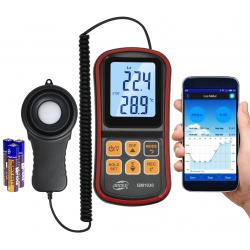 Luksomierz Benetech GM 1030 Bluetooth i aplikacja na sys. Android