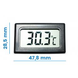 Termometr panelowy z sondą pomiarową - 10 m przewód
