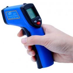 Pirometr Benetech GM 321 (-50 do 400°C) z regulacją emisyjności